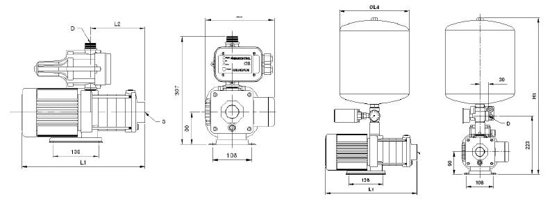 ตัวแทนจำหน่าย ศูนย์บริการ ร้านขายปลีก-ขายส่ง เสนอราคา เช็คราคา สินค้าขายดี เครื่องสูบน้ำ-ปั๊มน้ำ GRUNDFOS รุ่น CH-PT (Boosting System) โดย MOVE ENGINEERING