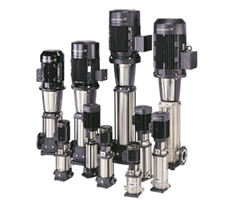 ตัวแทนจำหน่ายเครื่องสูบน้ำหลายใบพัด GRUNDFOS รุ่น CR (Vertical Multi-stage Pumps) โดย MOVE ENGINEERING